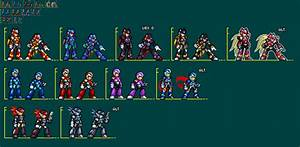 NPS: JUS Megaman X, Zero, Axl by UnluckyMorpheus on DeviantArt