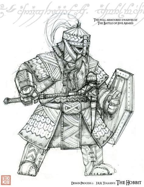 The Hobbit Dwarve Armor Template by Finalized Full Armoured Dwarf By Kineticflow The Hobbit