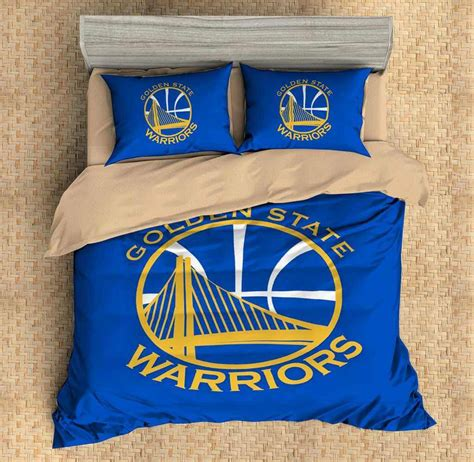 custom  golden state warriors bedding set duvet cover