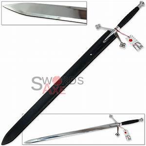 Scirocco Black Knight Scottish Claymore 44.5 Inch Steel ...