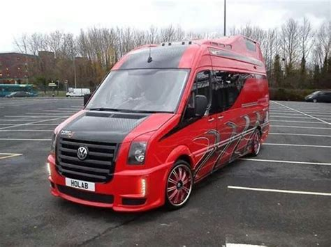vw crafter tuning modified vw crafter not keen on it as a whole but i do like some aspects if it vans vw