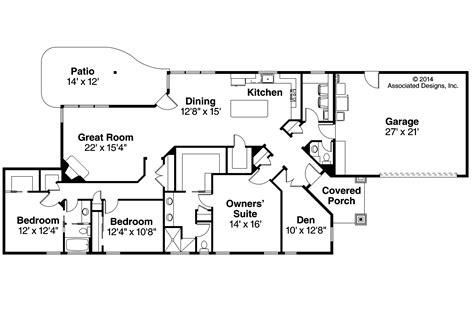 house floor plans ranch ranch house plans alton 30 943 associated designs