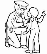 Security Coloring Guard Pages Police Officer Getdrawings sketch template