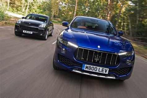 Vs Maserati maserati levante vs porsche cayenne auto express