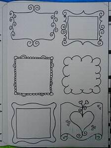 Cadre à Décorer : banni res bordures et cadres journaling addict ~ Zukunftsfamilie.com Idées de Décoration
