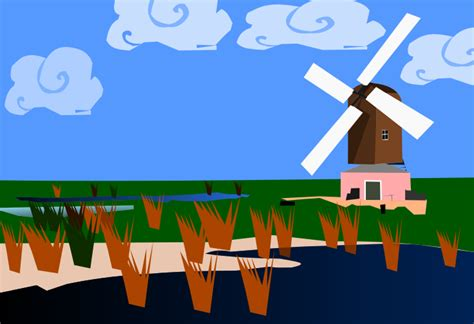 the classic windmill by shawanderson on deviantart
