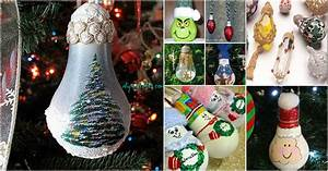 Good Light Scraps Love 10 Insanely Easy Christmas Light Bulb Decorations And