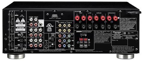 vsx    channel   ready av receiver pioneer electronics usa