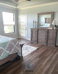 sherwin williams silver strand in a east exposure bedroom floor and furniture