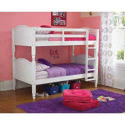 kylie twin over twin bunk bed with optional mattresses