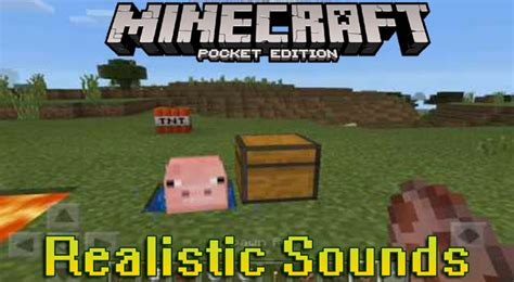 Realistic Sounds Minecraft Pe Resource Pack