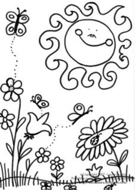 spring coloring pages for preschoolers free preschool coloring pages free coloring 784