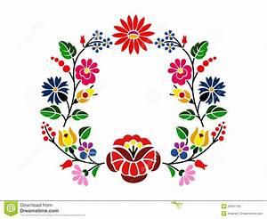 Kalocsai Pattern Royalty Free Stock Photo Image: 33431195