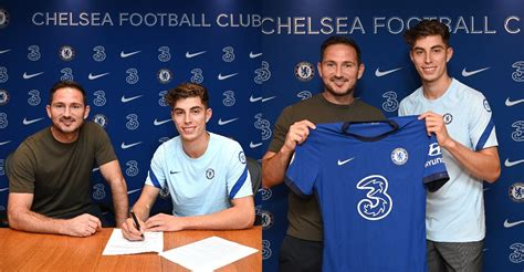 Chelsea Signs Kai Havertz On A Five-Year Contract