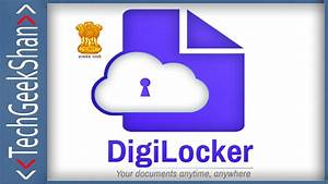 Working Documents Digilocker How To Upload Your Documents E Sign Youtube