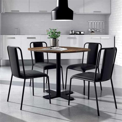 table ronde pour cuisine table ronde pour cuisine en stratifié avec pied central