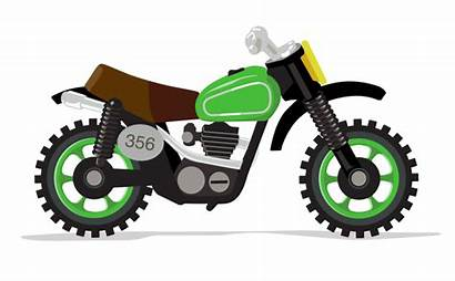 Svg Animation Experiment Illustration Motorcycle