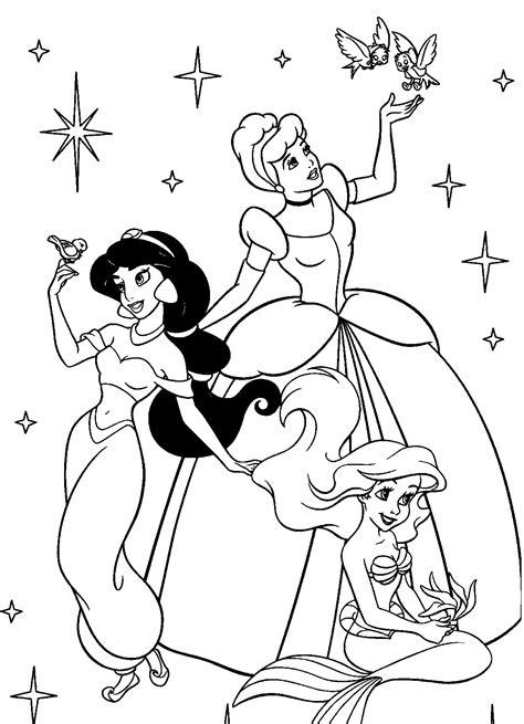 adorable coloring pages  girls disney princess