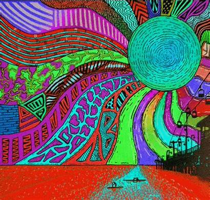 Trippy Visuals Psychedelic Gifs Vol Edition Perspective