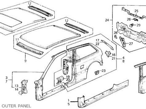 1990 Honda Civic Fuse Box by Honda Civic 1990 L 3dr Dx Ka Kl Parts List Partsmanual