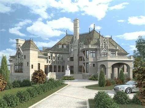 chateau house plans modern day castle floor plans beautiful homes