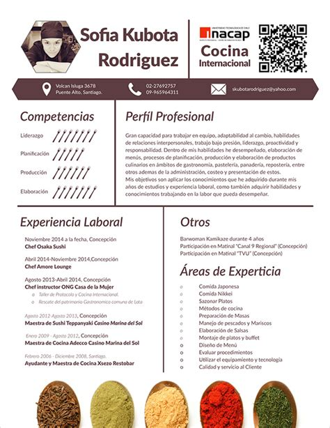 sample chef resume templates