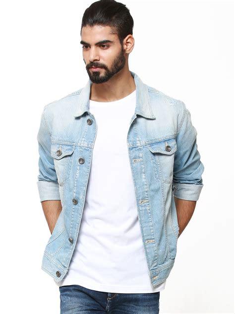 light wash denim jacket mens buy voi light wash denim jacket for s