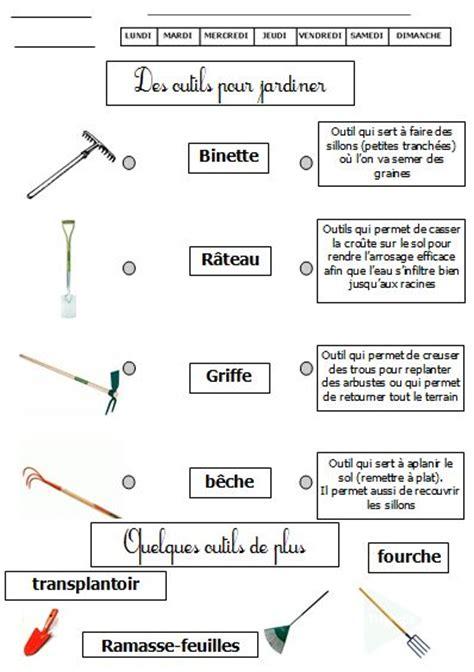 ustensile de cuisine en anglais outils pour jardiner de monsieur mathieu gs cp ce1