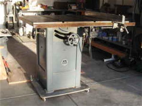 delta cabinet saw for sale vintage walker turner 10 quot table saw