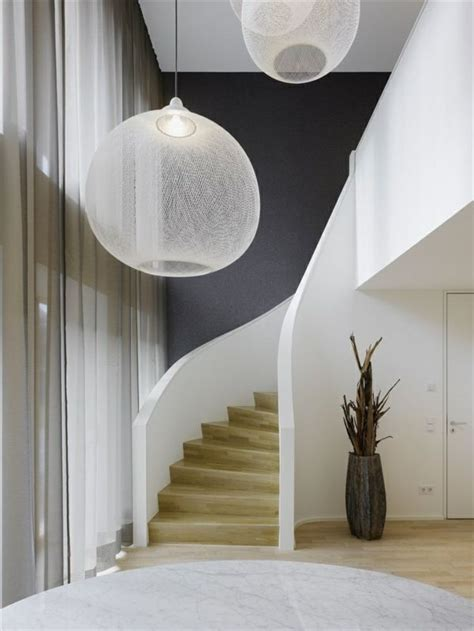 Hohe Decken Gestalten by Moderne Schicke Treppen Beleuchtung Home Len