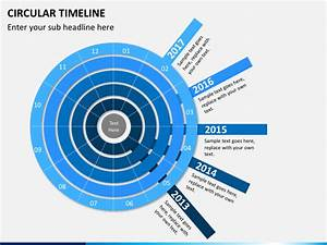 Circular Timeline Powerpoint Template