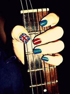 art, beautiful, cool, guitar, nail, nail art - image ...