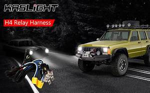 Amazon Com  1set 2 Headlight Harness H4 Headlight Relay