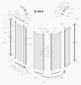 Duscholux Duschkabine Ersatzteile : kermi ibiza 2000 viertelkreis dusche mit pendelt ren i2 p ~ Watch28wear.com Haus und Dekorationen