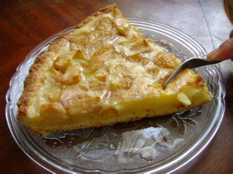 tarte au pomme pate brisee tarte aux pommes et a la creme patissiere les papilles de mimi