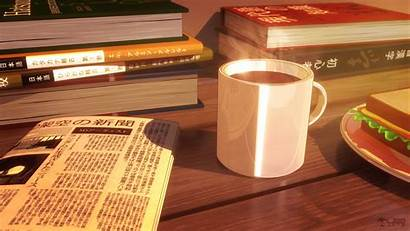 Anime Study Breakfast Artstation