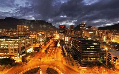 Cape Town Wallpapers Night 3d
