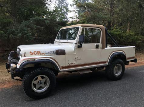 amc jeep scrambler 1982 jeep cj 8 scrambler laredo amc original no reserve 5