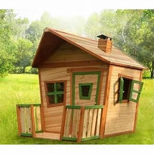 Cabane Enfant Occasion : maisonnette cabane enfant bois jesse achat vente maisonnette ext rieure cdiscount ~ Teatrodelosmanantiales.com Idées de Décoration