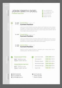 cv resume free psd template free psd files With free resume template psd