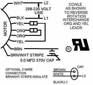 3 Wire And 4 Wire Condensing Fan Motor Connection