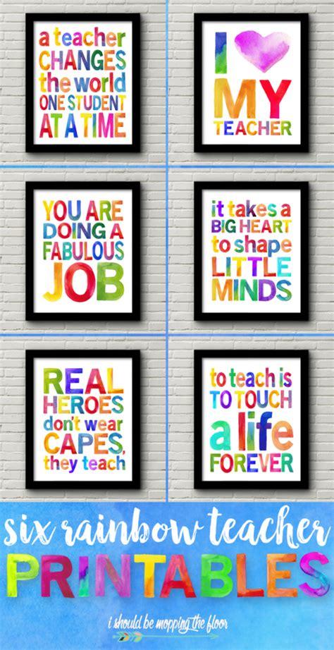 ideas  teacher appreciation gifts posterbrain