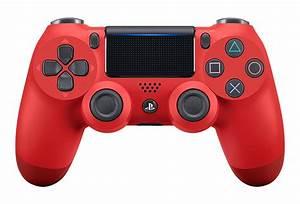 MAGMA RED PS4 CUSTOM MODDED CONTROLLER ModdedZone