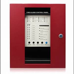 Facp  4  6  8  16 Zone Fire Alarm Panel Conventional Fire