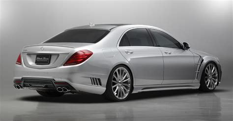 Wald Mercedes S-class W222 Revealed Further