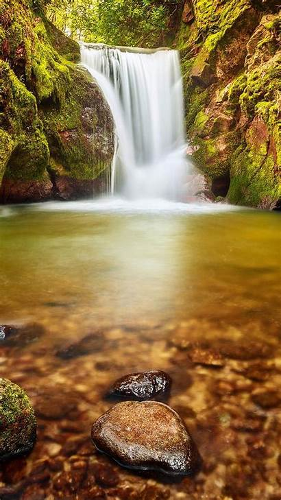 Portrait 1080p Wallpapers Background 1080 Waterfall Galaxy