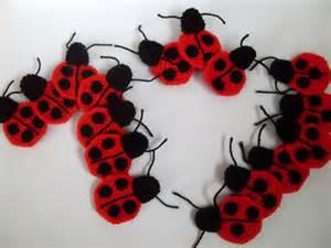 Free Crochet Ladybug Applique Pattern
