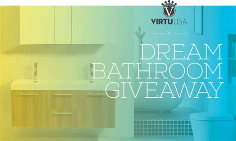 Win A Bathroom Makeover 2014 by Amazing Bathroom Vanity Bathroom Giveaway