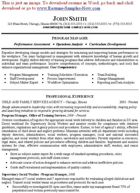 Professional Resume Exles For Social Workers by Resume Sle Social Worker Resume Exle Social