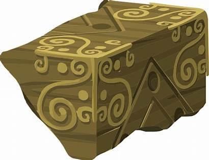 Artifact Mysterious Cube Piece Clip Clipart Clker
